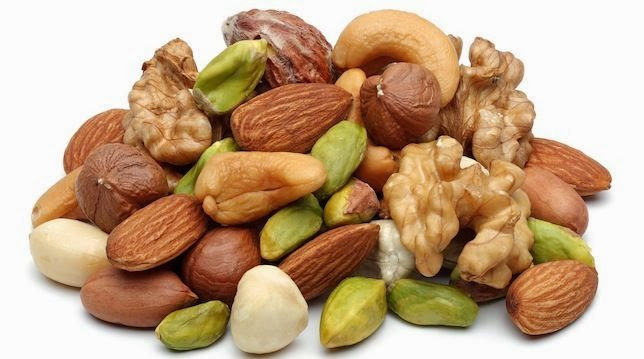 Hora ideal para comer frutos secos